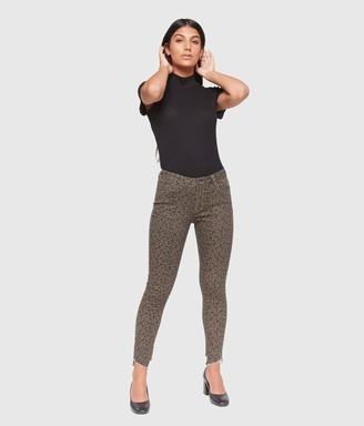 Lola Jeans Women's Plus Size Mid-Rise Skinny