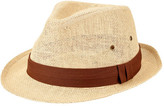 San Diego Hat Company Men's Woven Paper Fedora PBF7309