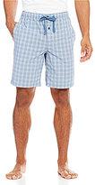 Daniel Cremieux Woven Plaid Pajama Shorts