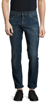 Dolce & Gabbana Distressed Buttoned Relaxed Jeans