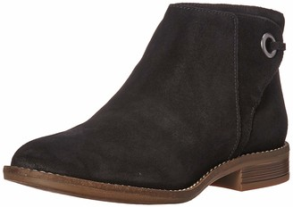 Clarks Women's Camzin Bow Ankle Boot