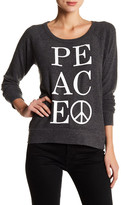 Chaser Long Sleeve Peace Pullover