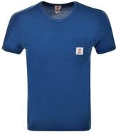 Franklin & Marshall Franklin Marshall Pocket T Shirt Blue