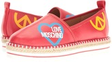 Love Moschino Cut Out Logo Espadrille Women's Shoes