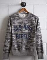 Tailgate Ole Miss Rebels Camo Sweatshirt