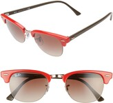 Ray-Ban 48mm Gradient Clubmaster Sunglasses