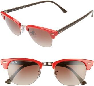 Ray-Ban 48mm Square Sunglasses