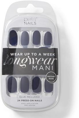 Bella Nails Navy Matte Press On Nails