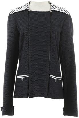 Chanel Navy Tweed Jackets