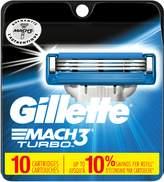 Gillette Mach3 Turbo Men's Razor Blade Refills