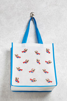 Forever 21 FOREVER 21+ Super Dog Graphic Eco Tote Bag