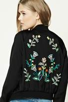 Forever 21 Heartbreaker Embroidered Jacket