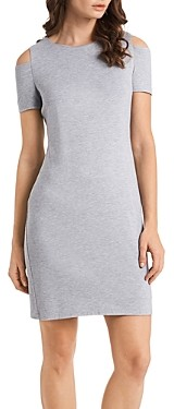 1 STATE Cold-Shoulder Knit Dress