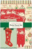 Cavallini & Co. Petite Parcel Set Vintage Christmas, 12 Gift Bags
