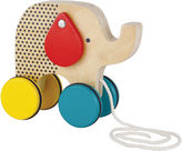 Petit collage Jumping jumbo elephant wood pull toy