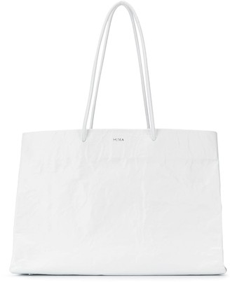 Medea Creased Effect Tote Bag