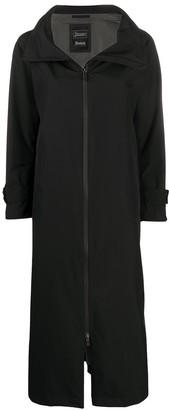 Herno Hooded Mid-Length Rain Coat