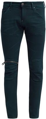 G Star Slim-Fit Zip Knee Jeans