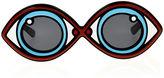 Linda Farrow x Yazbukey Blue Eye Spy Sunglasses