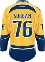 Reebok Men's P.K. Subban Nashville Predators Premier Player Jersey