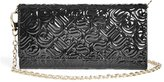 GUESS Metallic Embossed Clutch