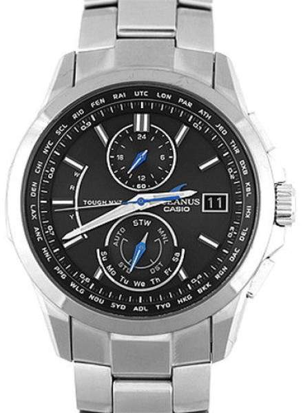 Casio Oshianasu OCW-T 2500 Titanium Quartz 42mm Mens Watch