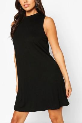 boohoo Sleeveless Basic Singlet T-Shirt Dress