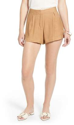 Nordstrom Something Navy Drapey Shorts Exclusive)
