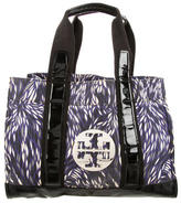 Tory Burch Printed Canvas Tory Tote
