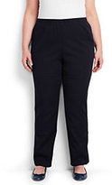 Classic Women's Plus Size 7 Day Elastic Waist Pants-True Navy