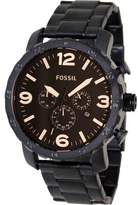 Fossil Nate JR1356 Brown Dial Watch