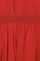 Giambattista Valli Layered silk-chiffon dress
