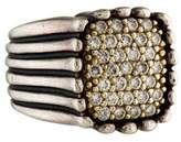 Lagos Two-Tone Diamond Ring