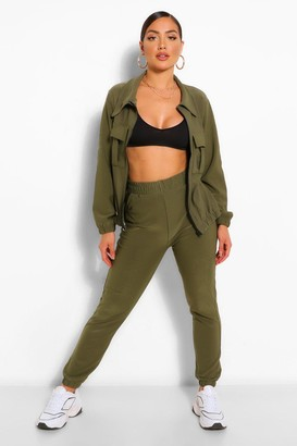 boohoo Pocket Detail Zip Top & Jogger Set