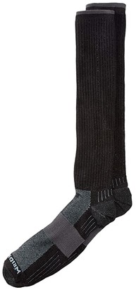 Wrightsock Escape Over The Calf (Black) Crew Cut Socks Shoes