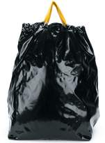 Maison Margiela contrast top-drawstring backpack