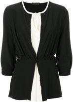 Etro gathered bow blouse - women - Silk - 40