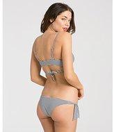 Billabong Women's Shell Stripe Biarritz Bikini Bottom