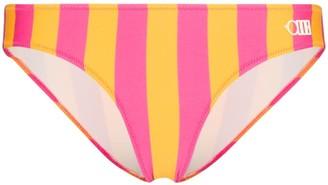 Solid & Striped Elle striped bikini bottoms