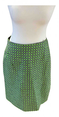Carven Green Cotton Skirts