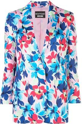 Boutique Moschino Floral Print Blazer