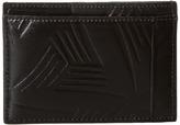 Marni Flower Embossed Leather Card Holder Wallet Handbags