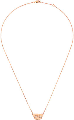 Dinh Van Menottes R8 Necklace - Rose Gold