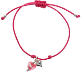 Murano Martick Friendship Bracelet with Heart