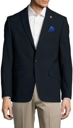Ben Sherman Textured Wool-Blend Jacket
