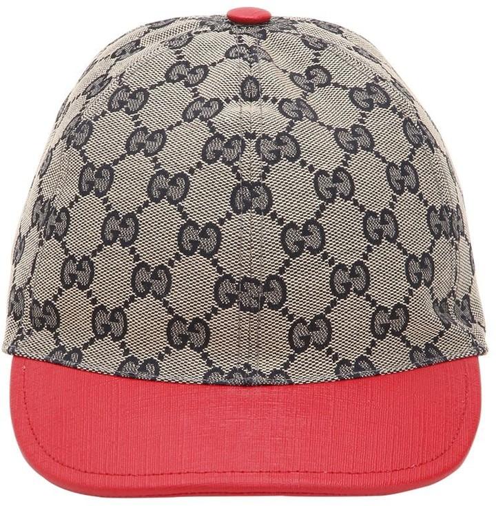 3e2b5242e Gg Supreme Cotton Canvas Trucker Hat