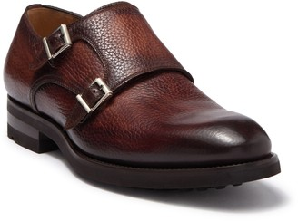 Magnanni Leather Monkstrap Loafer