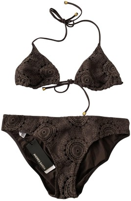 Andres Sarda Brown Lycra Swimwear for Women