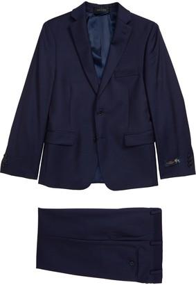 Hart Schaffner Marx Neat Nested Wool Suit