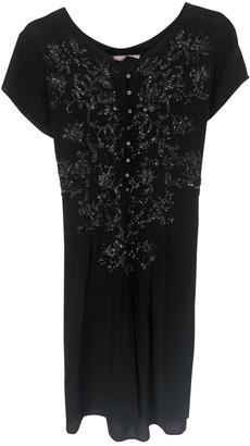 Calypso St. Barth Black Silk Dress for Women